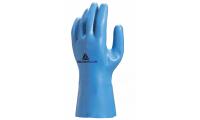 舒适型天然乳胶防化植棉手套